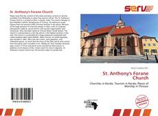 Bookcover of St. Anthony's Forane Church