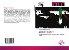 Bookcover of Sergei Siniakov