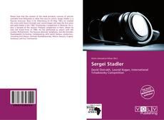 Sergei Stadler kitap kapağı