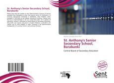 Bookcover of St. Anthony's Senior Secondary School, Barabanki