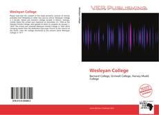 Borítókép a  Wesleyan College - hoz