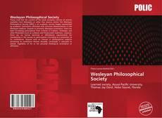 Capa do livro de Wesleyan Philosophical Society