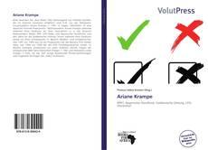 Buchcover von Ariane Krampe