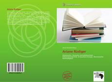 Buchcover von Ariane Rüdiger