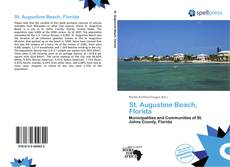Bookcover of St. Augustine Beach, Florida
