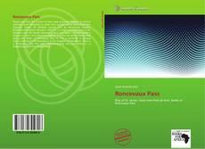 Обложка Roncevaux Pass