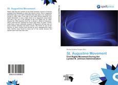Buchcover von St. Augustine Movement