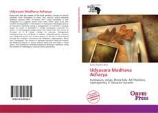 Bookcover of Udyavara Madhava Acharya