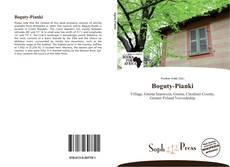 Boguty-Pianki kitap kapağı