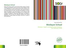 Wesleyan School的封面
