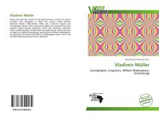 Bookcover of Vladimir Müller