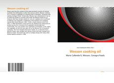 Couverture de Wesson cooking oil