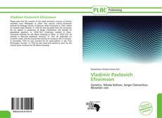 Bookcover of Vladimir Pavlovich Efroimson