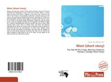 Bookcover of West (short story)