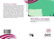 Bookcover of West Adams, Los Angeles
