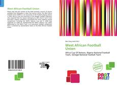 Bookcover of West African Football Union