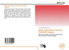 Bookcover of West Australian Country Football League