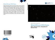 Capa do livro de West African CFA franc