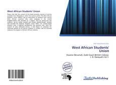 Capa do livro de West African Students' Union