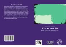 Обложка West Antarctic Rift