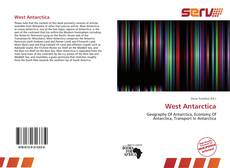 Bookcover of West Antarctica