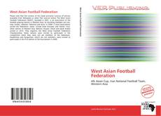 Bookcover of West Asian Football Federation