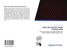 West Australian State Premiership kitap kapağı