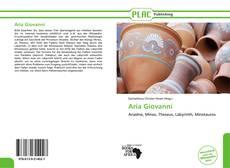 Bookcover of Aria Giovanni