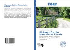 Klukowo, Ostrów Mazowiecka County kitap kapağı