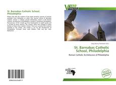 Bookcover of St. Barnabas Catholic School, Philadelphia