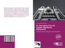 Capa do livro de St. Barnabas Church (Upper Marlboro, Maryland)