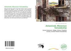 Copertina di Antoninek, Masovian Voivodeship
