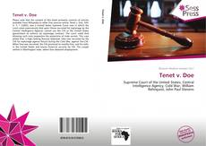 Bookcover of Tenet v. Doe
