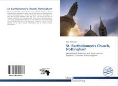 Bookcover of St. Bartholomew's Church, Nottingham