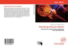 Обложка Red (King Crimson Album)