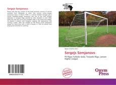 Sergejs Semjonovs kitap kapağı