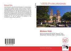 Portada del libro de Bistum Tete