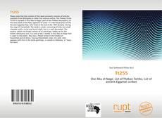 Bookcover of Tt255