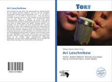 Ari Leschnikow kitap kapağı