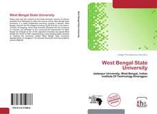 Copertina di West Bengal State University