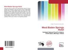 Buchcover von West Baden Springs Hotel