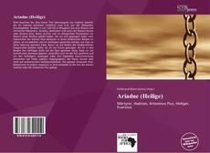Copertina di Ariadne (Heilige)
