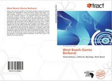 Capa do livro de West Beach (Santa Barbara)