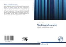 West Australian wine的封面
