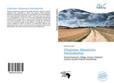 Portada del libro de Chojnów, Masovian Voivodeship
