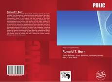 Copertina di Ronald T. Burr