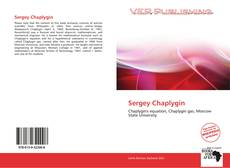 Bookcover of Sergey Chaplygin