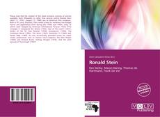 Bookcover of Ronald Stein