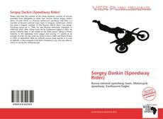 Sergey Darkin (Speedway Rider) kitap kapağı