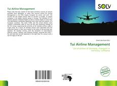Couverture de Tui Airline Management